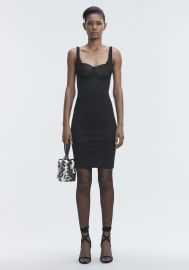 Ruched Bodycon Dress at Alexander Wang