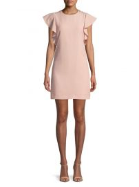 Ruffle Cap-Sleeve Sheath Dress by Laundry by Shelli Segal at Lord & Taylor