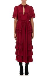 Ruffle-Embellished Silk Maxi Dress at Barneys