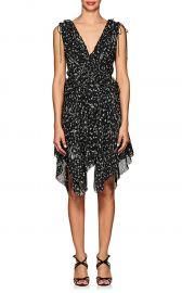 Ruffle Floral Silk Dress  Derek Lam 10 Crosby at Barneys