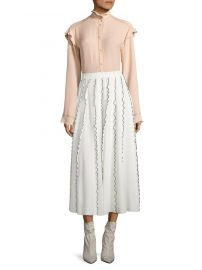 Ruffle Midi Skirt by Derek Lam at Saks Off 5th
