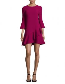 Ruffled Bell-Sleeve A-Line Dress by Eliza J at Lord & Taylor