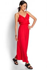 Ruffled Maxi Dress at Forever 21