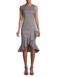 Ruffled Sheath Dress  Calvin Klein at Lord & Taylor