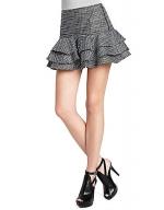 Ruffled jacquard skirt at Lord & Taylor