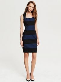 Rugby Stripe Dress at Banana Republic
