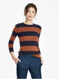 Rugby Striped Sweater at Banana Republic