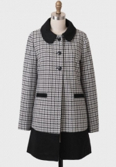 Rumor Has it houndstooth coat by Tulle at Ruche