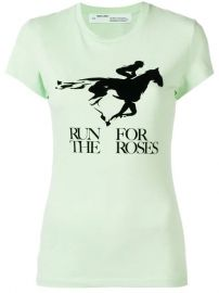 Run For The Roses T-shirt at Farfetch