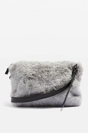 Rupert Faux Fur Cross Body Bag at Topshop