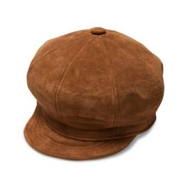 Ruthy Suede Cabbie Hat at Goorin Bros