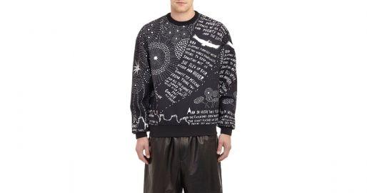 Ryan Printed Neoprene Sweatshirt by Juun.j at Barneys