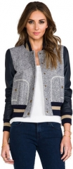 Ryder Baseball Jacket by Rachel Zoe at Revolve