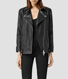 Ryder Leather Jacket at All Saints