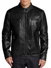 Ryder leather moto jacket at Saks Off 5th