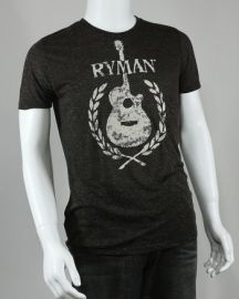 Ryman Flocked Guitar Tee at Ryman