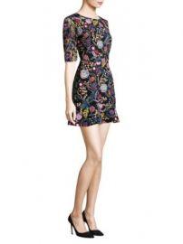 SALONI - Celia-C Mini Dress at Saks Off 5th