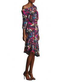 SALONI - Lexie Silk Off-Shoulder Dress at Saks Fifth Avenue