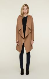 SAMIA double-face wool coat by Soia & Kyo at Soia & Kyo