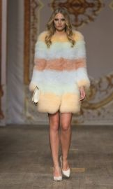 SS 2014 Fur Coat at Ida Sjostedt