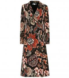STELLA MCCARTNEY Floral-jacquard coat at My Theresa