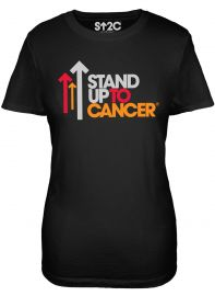 SU2C Full Logo Black Women's T-Shirt at SU2C
