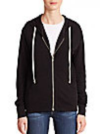 SUNDRY On Tour Zip Front Hoodie at Saks Fifth Avenue