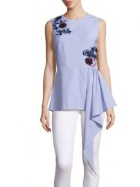 SUNO - Cascade Sleeveless Top at Saks Fifth Avenue