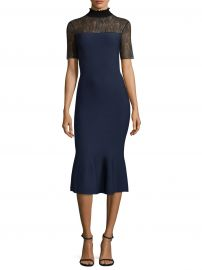 Sachin   Babi - Deena Lace Mermaid Midi Dress at Saks Fifth Avenue