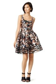 Sachin Babi Bouquet Dress at Rent The Runway