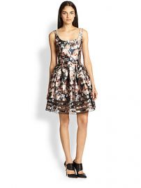 Sachin and Babi - Facet Floral-Print Dress at Saks Fifth Avenue