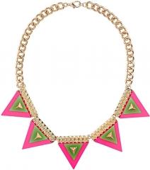 Safari Bunting Necklace at Topshop