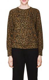 Saguro Leopard-Print Cotton Sweatshirt at Barneys