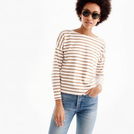 Saint James for J Crew Slouchy T-Shirt camel at J. Crew