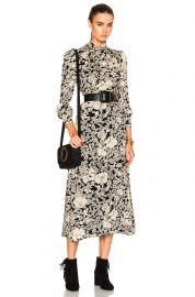 Saint Laurent 70s Floral Long Dress at Forward