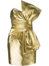 Saint Laurent Bow Mini Dress - Farfetch at Farfetch