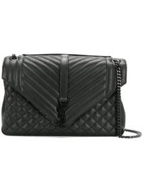 Saint Laurent Classic Large Soft Envelope Bag at Farfetch