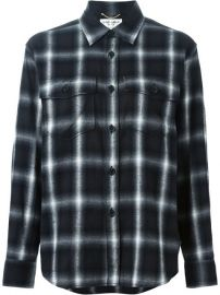 Saint Laurent Classic Plaid Shirt - Joy Style Concept at Farfetch