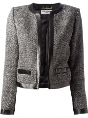 Saint Laurent Edge To Edge Jacket - Maria Store at Farfetch