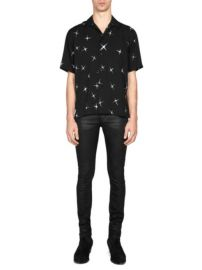 Saint Laurent Electric Star Button-Down Shirt at Saks Fifth Avenue