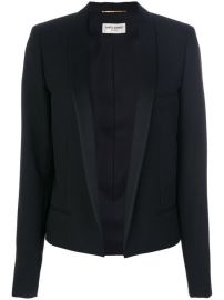 Saint Laurent Open Front Blazer  3 490 - Buy Online SS18 - Quick Shipping  Price at Farfetch