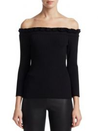 Saks Fifth Avenue - COLLECTION Off-The-Shoulder Top at Saks Fifth Avenue