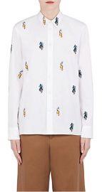 Sally Smart Embroidered Cotton Shirt by Marni at Barneys