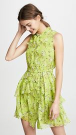 Saloni Tilly Ruffle Dress at Shopbop