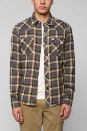 Salt Valley Eastwood Western Flannel Shirt at Urban Outfitters