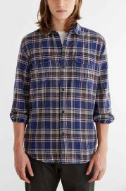 Salt Valley Spring Flannel Button-Down Shirt at Urban Outfitters