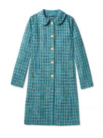 Salvador Perez Peter Pan Collar Coat at Gilt