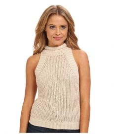 Sam Edelman Cropped Turtle Neck Sweater Latte at 6pm