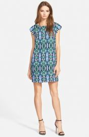 Sam Edelman Illusion Panel Shift Dress at Nordstrom