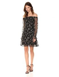 Sam Edelman Women s Star Embroidery Off The Shoulder at Amazon